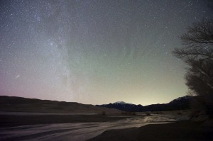 Airglow at the Sand Dunes